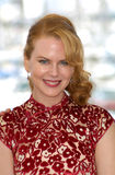 Nicole Kidman. Actress NICOLE KIDMAN at the Cannes Film Festival where her movie Moulin Rouge is opening the Festival 09MAY2001  Paul Smith/Featureflash Royalty Free Stock Photo