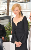 Nicole Kidman. CANNES, FRANCE - MAY 15, 2013: Nicole Kidman at the photocall for the Jury of the 66th Festival de Cannes royalty free stock images