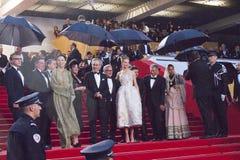 Nicole Kidman, Christoph Waltz, Steven Spielberg Fotos de archivo libres de regalías
