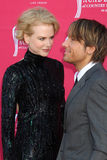 Nicole Kidman,Keith Urban Royalty Free Stock Photography