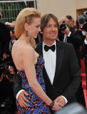 Nicole Kidman & Keith Urban Stock Photo