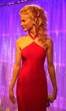 Nicole Kidman at Madame Tussaud's royalty free stock photography