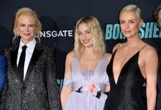 Nicole Kidman, Margot Robbie & Charlize Theron