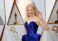 Nicole Kidman. At the 90th Annual Academy Awards held at the Dolby Theatre in Hollywood, USA on March 4, 2018 Stock Photography
