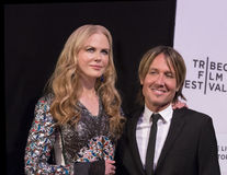 Nicole Kidman och Keith Urban Arkivfoto