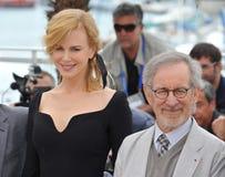 Nicole Kidman, Steven Spielberg fotografía de archivo libre de regalías