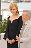 Nicole Kidman,Steven Spielberg. Steven Spielberg & Nicole Kidman at the photocall for the Jury of the 66th Festival de Cannes. May 15, 2013 Cannes, France stock images
