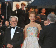 Nicole Kidman,Steven Spielberg Stock Photo