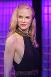 Nicole Kidman-waxwork bij Mevrouw Tussauds-tentoongesteld voorwerp stock foto