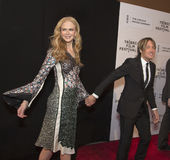 Nicole Kidman y Keith Urban Foto de archivo