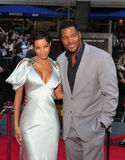 Nicole Murphy and Michael Strahan Stock Photography
