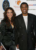 Nicole Pantenburg and Kenneth Babyface Edmonds Royalty Free Stock Image