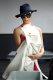 Nicole Scherzinger Fotografia de Stock Royalty Free