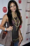Nicole Scherzinger op het rode tapijt. stock foto's