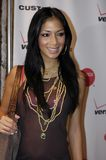 Nicole Scherzinger on the red carpet. Royalty Free Stock Photos