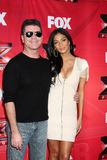 Nicole Scherzinger, Simon Cowell Royalty Free Stock Photo