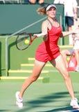 Nicole Vaidisova bij 2009 BNP Open Paribas royalty-vrije stock fotografie