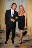 Nicolette Sheridan. Stephen Pate, Nicolette Sheridan  at the 15th Annual Prism Awards, Beverly Hills Hotel, Beverly Hills, CA. 04-28-11 Stock Image