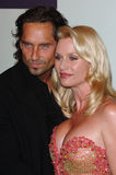 Nicollette Sheridan, Niklas Soderblom, DESPERATE HOUSEWIVES Foto de archivo libre de regalías