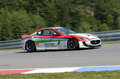 Nicolo Piancastelli in action at FIA WTCC Trofeo G Royalty Free Stock Photo