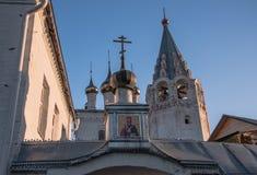 Nicolo Trinity kloster Gorokhovets Den Vladimir regionen Slutet av September 2015 Arkivfoto