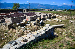 Nicopolis ad Nestum. A ruined Roman town of the province of Thracia Thrace Stock Photography
