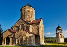 Nicortsminda church temple in Georgia Stock Photo