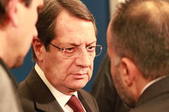 Nicos Anastasiades Royalty Free Stock Photo