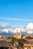 Nicosia, Cyprus, luchtmening royalty-vrije stock foto