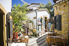 Nicosia, Cyprus. One of the main street in Nicosia, Cyprus Royalty Free Stock Images