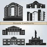 Nicosia landmarks and monuments Stock Photography