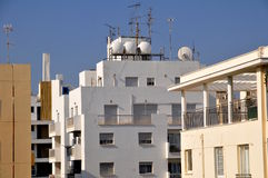 Nicosia -middle-market housing Stock Photo