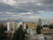 Nicosia View. A view of Nicosia, Cyprus royalty free stock photography
