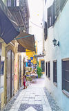 Nicosian backstreet Royalty Free Stock Image