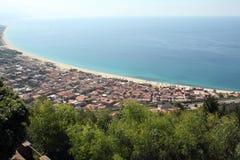Nicotera, Калабрия, Италия Стоковое Изображение RF