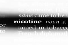 nicotina fotos de archivo