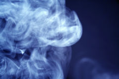 Nicotine. Smoke Royalty Free Stock Images