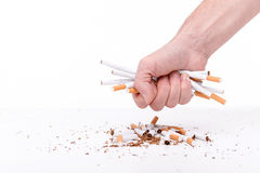 Nicotine is very harmful for your health Royalty Free Stock Photo