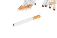 Nicotinic dependence Stock Image