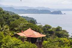 Nicoya概要,哥斯达黎加 免版税库存照片