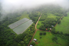 Nicoya airport area, Costa Rica Royalty Free Stock Photo