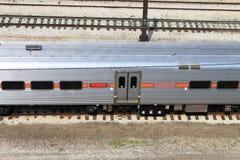 芝加哥火车 图库摄影