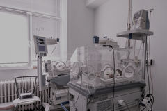 Nicu nersury unit for premature babies Royalty Free Stock Image
