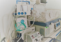 Nicu nersury unit for premature babies Royalty Free Stock Photo