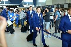 Nicusor Stanciu, Vlad Chiriches Royalty Free Stock Photos