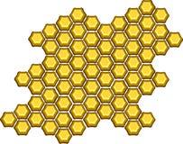 Nid d'abeilles illustration stock