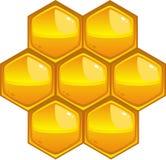 Nid d'abeilles Photos stock