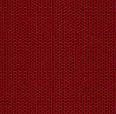 Nid d'abeilles rouge Image libre de droits