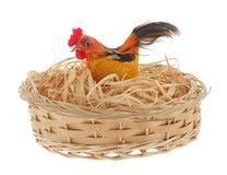 Nid de poulet Photo libre de droits