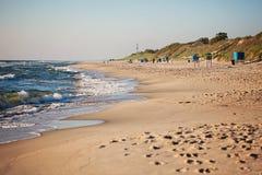 Nida beach Stock Images